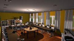 Raumgestaltung BiWi Projekt in der Kategorie Arbeitszimmer