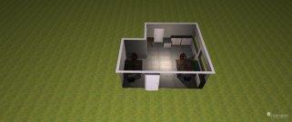 Raumgestaltung Buero _TD-342 in der Kategorie Arbeitszimmer