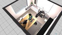 Raumgestaltung Büro A in der Kategorie Arbeitszimmer