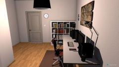 Raumgestaltung Büro Arbeit in der Kategorie Arbeitszimmer