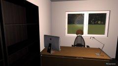 Raumgestaltung Büro CP W27 in der Kategorie Arbeitszimmer
