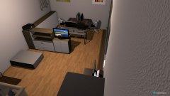 Raumgestaltung Büro CT 2.Möglichkeit in der Kategorie Arbeitszimmer