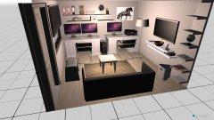 Raumgestaltung Büro Garten in der Kategorie Arbeitszimmer