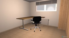 Raumgestaltung Büro Keller Eck in der Kategorie Arbeitszimmer