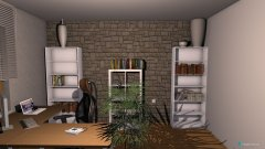 Raumgestaltung Büro - Keller in der Kategorie Arbeitszimmer