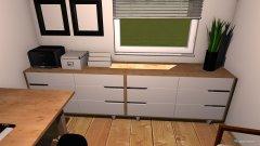 Raumgestaltung Büro Langenlebarn in der Kategorie Arbeitszimmer