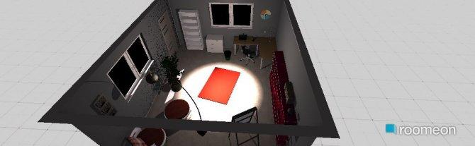 Raumgestaltung Büro Mami in der Kategorie Arbeitszimmer