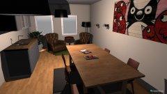 Raumgestaltung Büro Meeting in der Kategorie Arbeitszimmer