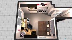Raumgestaltung büro1 in der Kategorie Arbeitszimmer
