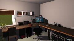 Raumgestaltung Büro in der Kategorie Arbeitszimmer