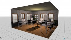 Raumgestaltung bürogemeinschaft in der Kategorie Arbeitszimmer