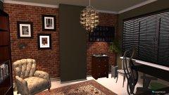 Raumgestaltung Bureau Idee 2 in der Kategorie Arbeitszimmer