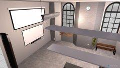 Raumgestaltung Cartocon Studio in der Kategorie Arbeitszimmer
