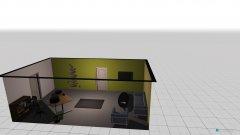 Raumgestaltung Chefbüro in der Kategorie Arbeitszimmer