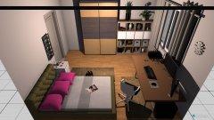 Raumgestaltung Chrisis Wohnung in der Kategorie Arbeitszimmer