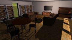 Raumgestaltung Clubraum in der Kategorie Arbeitszimmer