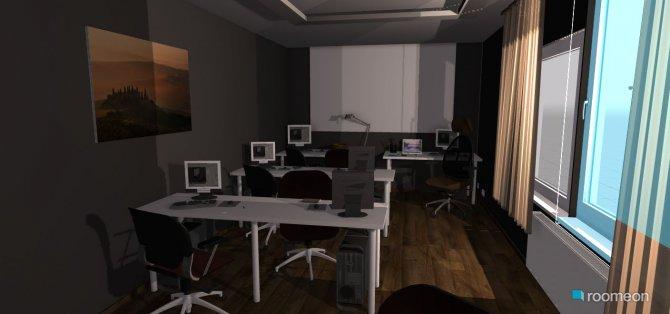 Raumgestaltung Computer Raum 01 in der Kategorie Arbeitszimmer
