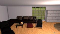 Raumgestaltung cool Luc Zimmer in der Kategorie Arbeitszimmer