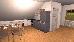 Raumgestaltung Dachboden in der Kategorie Arbeitszimmer
