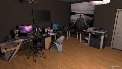 Raumgestaltung Daniels Youtubezimmer in der Kategorie Arbeitszimmer