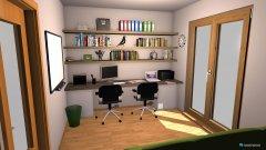 Raumgestaltung Delovna soba 2 in der Kategorie Arbeitszimmer