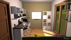 Raumgestaltung Delovna soba 3 in der Kategorie Arbeitszimmer