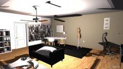 Raumgestaltung Design-Büro-Unterhaltungsraum für 41m² in der Kategorie Arbeitszimmer