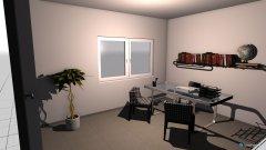 Raumgestaltung desk in der Kategorie Arbeitszimmer