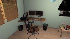 Raumgestaltung dinutki in der Kategorie Arbeitszimmer
