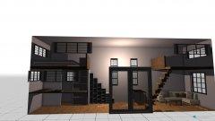 Raumgestaltung doppelloft in der Kategorie Arbeitszimmer