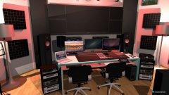 Raumgestaltung Dream Studio in der Kategorie Arbeitszimmer