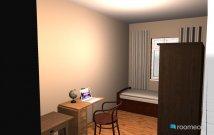 Raumgestaltung Dresdner Gästezimmer in der Kategorie Arbeitszimmer