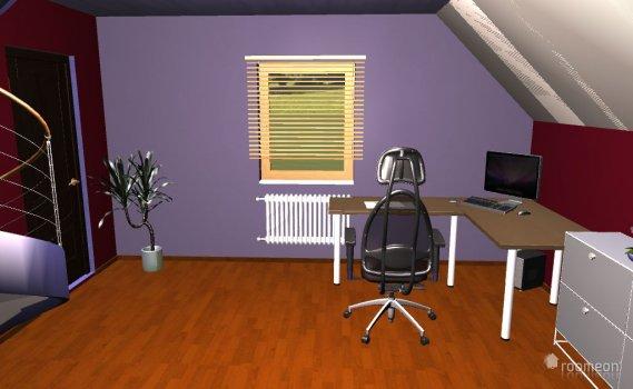 Raumgestaltung Durchgangsraum in der Kategorie Arbeitszimmer