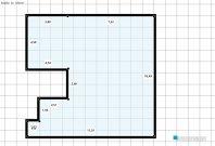 Raumgestaltung EG in der Kategorie Arbeitszimmer