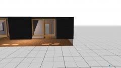 Raumgestaltung ehemaliges Wohnzimmer in der Kategorie Arbeitszimmer