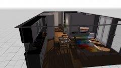 Raumgestaltung Eigentumswohung H1W2 in der Kategorie Arbeitszimmer