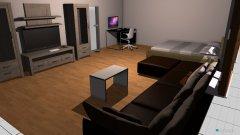 Raumgestaltung eLVIS PFLEGEZIMMER in der Kategorie Arbeitszimmer