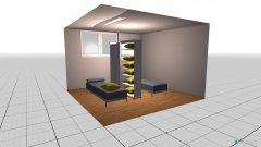 Raumgestaltung Entspannungsraum in der Kategorie Arbeitszimmer