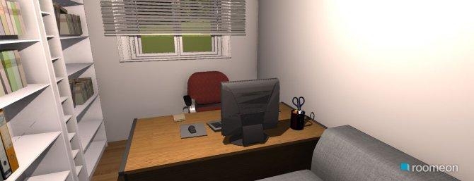 Raumgestaltung Entwurf 1 in der Kategorie Arbeitszimmer