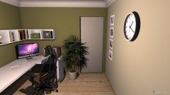 Raumgestaltung Ergänzung des Lofts 4 in der Kategorie Arbeitszimmer