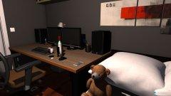 Raumgestaltung Eugen Zimmer 1 in der Kategorie Arbeitszimmer