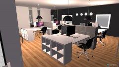 Raumgestaltung Faruk Grossraum Büro 333 in der Kategorie Arbeitszimmer