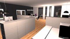 Raumgestaltung Faruk Grossraum Büro 444 in der Kategorie Arbeitszimmer