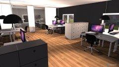 Raumgestaltung Faruk Grossraum Büro in der Kategorie Arbeitszimmer