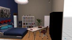 Raumgestaltung Felix 1 in der Kategorie Arbeitszimmer