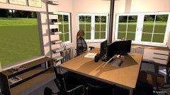 Raumgestaltung Feuerwehr EZ in der Kategorie Arbeitszimmer
