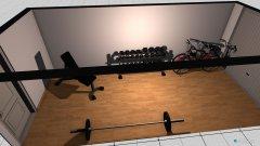 Raumgestaltung Fitness in der Kategorie Arbeitszimmer
