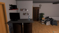Raumgestaltung Friseur Verena in der Kategorie Arbeitszimmer