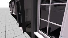 Raumgestaltung Friseurstudio in der Kategorie Arbeitszimmer