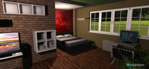 Raumgestaltung Furnishing REAL New York Apartment in der Kategorie Arbeitszimmer